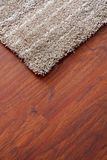 Carpet on a parquet Royalty Free Stock Image