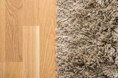 Carpet And Parquet Stock Photo
