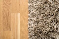 Carpet And Parquet Stock Photo