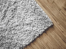 Carpet on parquet Royalty Free Stock Photos