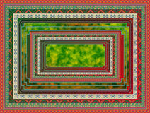 Carpet pattern. Abstract objectless composition for carpets royalty free illustration