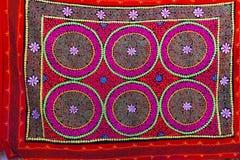 Carpet  pattern  Kazakhstan Royalty Free Stock Images