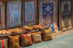Carpet products handmade Stock Photos