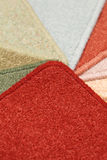 Carpet samles Royalty Free Stock Photography