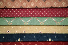 carpet samples Royalty Free Stock Photos