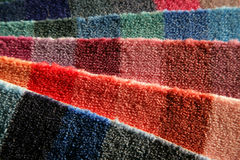 Carpet samples Royalty Free Stock Photography