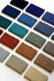Carpet samples Stock Image