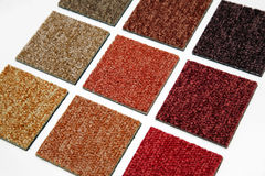 carpet samples Stock Photo