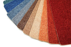 carpet samples Royalty Free Stock Photos