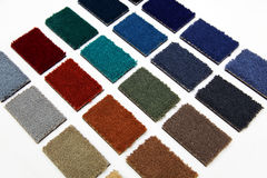 carpet samples Royalty Free Stock Photo
