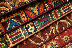carpet samples, rug Royalty Free Stock Images