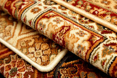 Carpet samples, rug Royalty Free Stock Photo