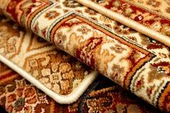 Carpet samples, rug Royalty Free Stock Photo