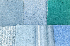 Carpet selection Stock Image
