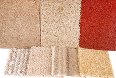 Carpet selection Stock Photography