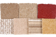 Carpet selection Royalty Free Stock Images