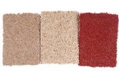 Carpet selection Royalty Free Stock Photo