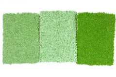 Carpet selection Stock Images