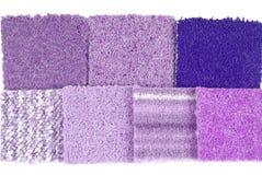 Carpet selection Stock Image