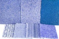 Carpet selection Stock Photos