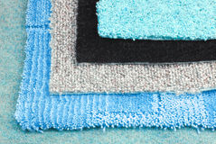 Carpet selection choice sample Royalty Free Stock Image