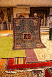 Carpet sellers put on a show Stock Photo