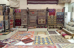 Carpet shop Stock Photos