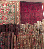 Carpet shop in Riyadh Royalty Free Stock Photography