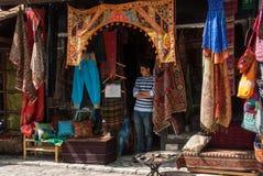 Carpet shop in Sarajevo, Bosnia and Herzegovina Stock Image