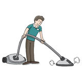 Carpet Steam Cleaner Stock Photography