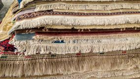 Carpet store Stock Images