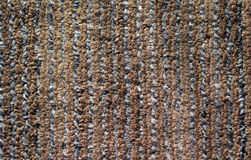 Carpet in the strip. The carpet in the striped brown with gray Royalty Free Stock Photos