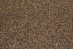 Carpet texture. Closeup of brown indoor outdoor carpet texture royalty free stock photography