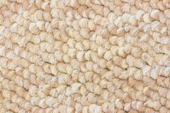 Carpet texture. Hairy beige carpet textured background Stock Image