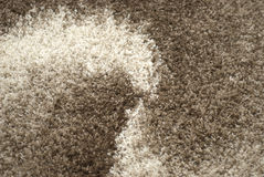 Carpet texture - fusion. Element of the carpet with a large pile Stock Photo