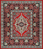 Carpet traditional cover Royalty Free Stock Photography
