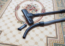 Free Carpet Vacuuming With Vacuum Cleaner At Home Stock Photo - 51138310