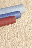 Carpet and Wallpaper Samples and Copy Space Royalty Free Stock Image
