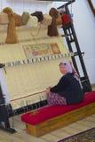 Carpet weaving in Turkey Stock Photo