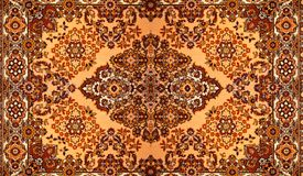 Carpet With Pattern Stock Image