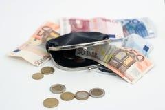 Carpeta con Money2 Imágenes de archivo libres de regalías