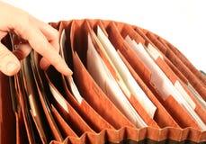 Carpeta de fichero fotografía de archivo libre de regalías