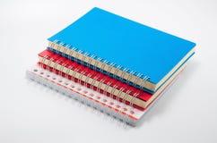 Carpeta de la cubierta de los cuadernos Fotos de archivo libres de regalías