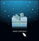 Carpeta de Mac OS X limitada con la cinta del regalo Imágenes de archivo libres de regalías