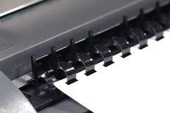 Carpeta de papel imagenes de archivo