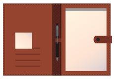 carpeta folio Obraz Stock