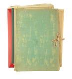 Carpeta que llena los papeles viejos Imágenes de archivo libres de regalías