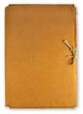 Carpeta vieja Foto de archivo