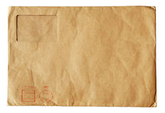 Carpeta vieja del poste Fotos de archivo libres de regalías