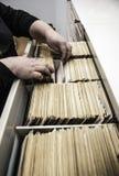 carpetas Fotografía de archivo libre de regalías